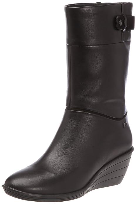 Botas para es 37 y Mia cuña complementos Camper 46509 Negro Amazon Mujer Zapatos 41qIzw