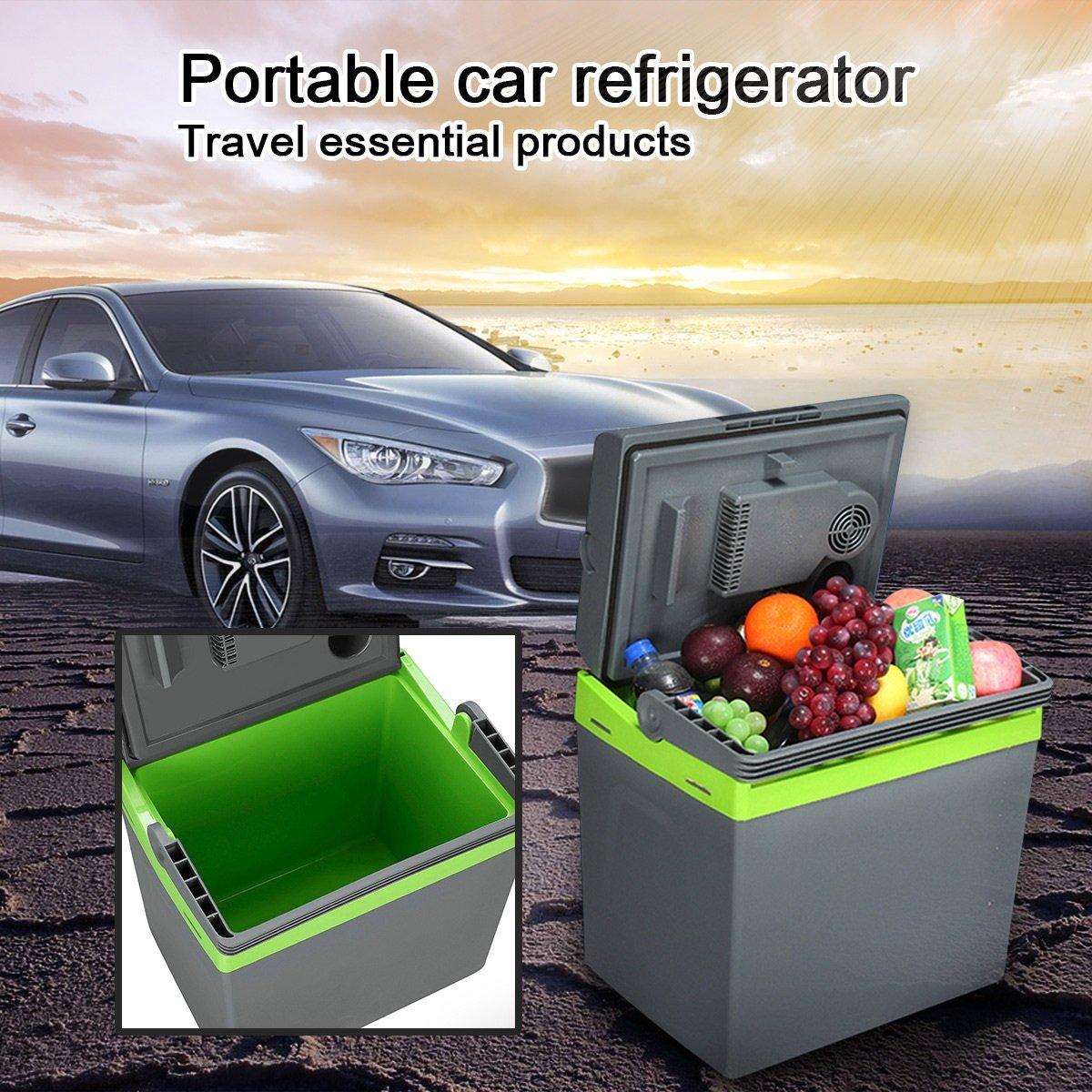 Amazon.es: QIHANGCHEPIN 25L Mini refrigerador del coche 12V ...