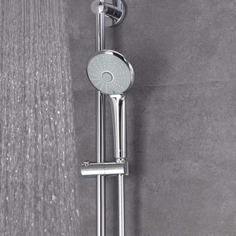 Grohe 27964000 Euphoria System - Sistema de ducha Cabezal de ducha redondo 210 mm: Amazon.es: Bricolaje y herramientas