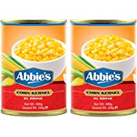 Abbie's Sweet Corn Kernels, 400g, Pack of 2