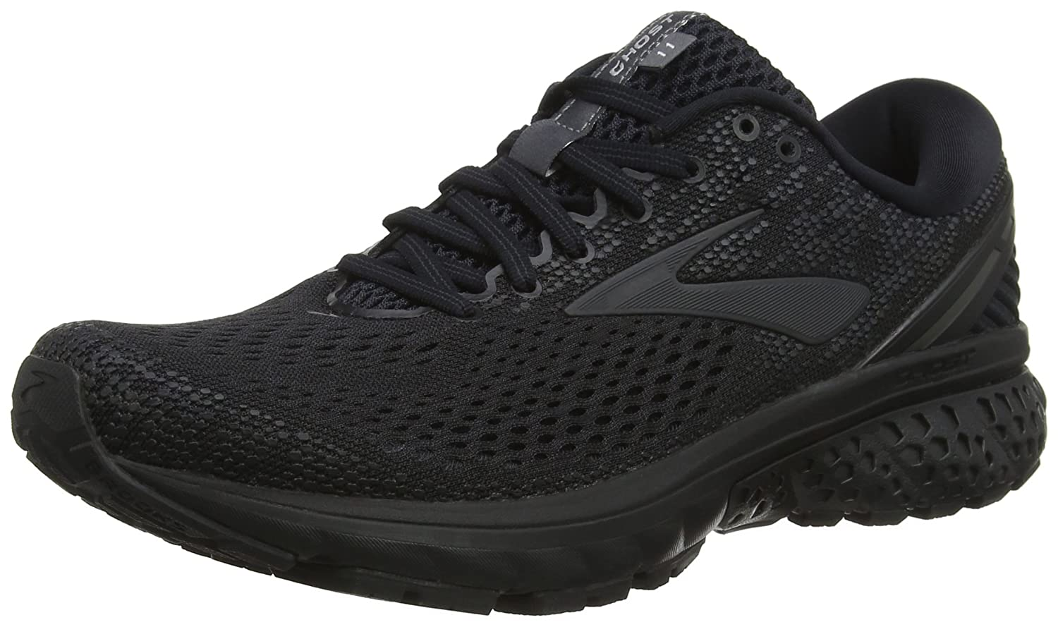 Brooks Ghost 11, Zapatillas de Running para Hombre 42 EU|Negro (Black/Ebony 071)