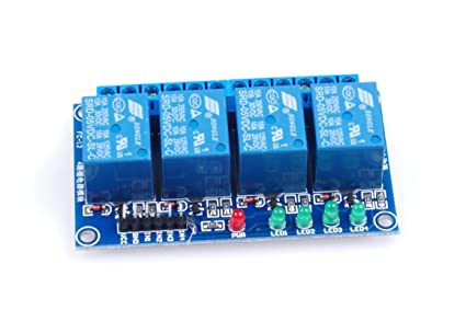 KNACRO 4-Channel DC 5V / 09V / 12V / 24V Relay Module Low Level Trigger  with Isolation Slot with Indicators 4-NC 4-NO for Arduino, Industrial  Control,