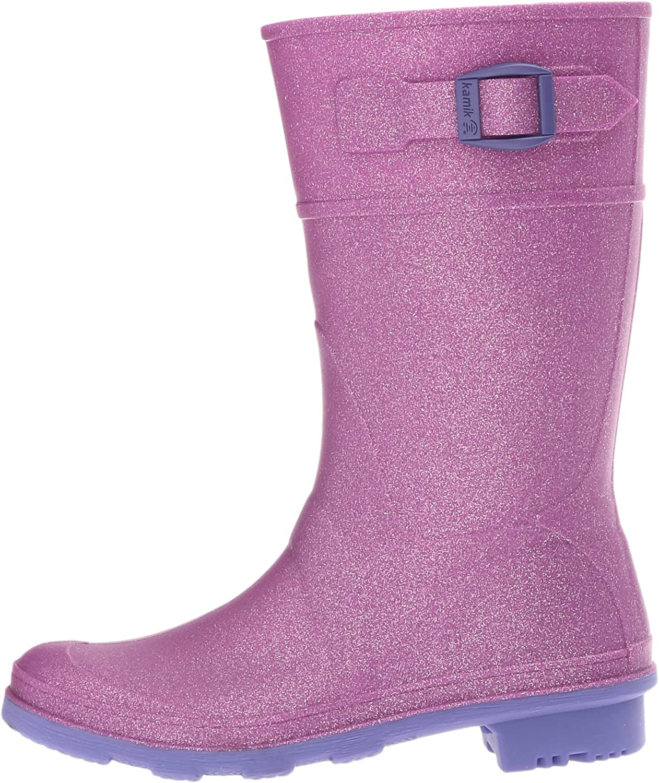 Kamik Kids Glitzy Rain Boot