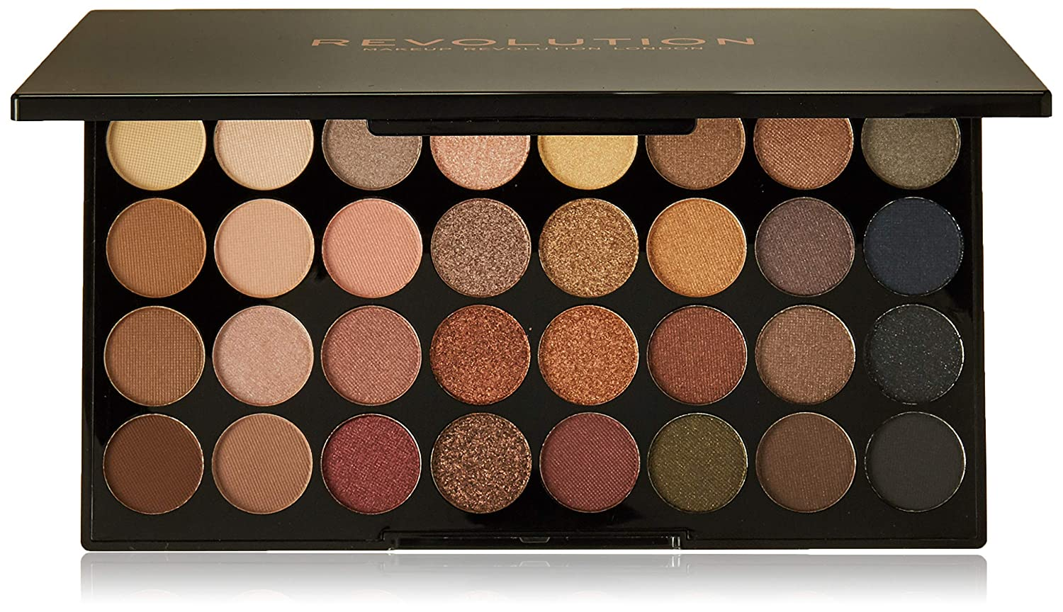 Revolution Flawless Ultra 32 Shade and Awesome Eyeshadow Palette Professional Makeup