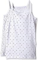 NAME IT Baby-Mädchen Unterhemd Nitstrap Top K G Noos, 2er Pack