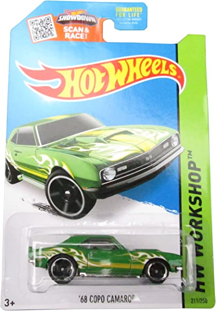 Red and Orange Hot Wheels 2011 New Models /'68 COPO Camaro 1//64 scale