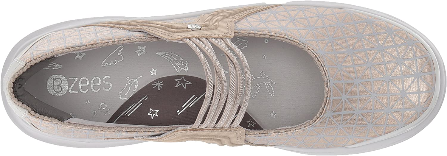 BZees Womens Candy Mary Jane Flat
