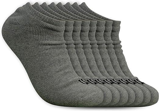Amazon Com Wilson Calcetines Acolchados Para Hombre Talla Baja 8 Pares Clothing