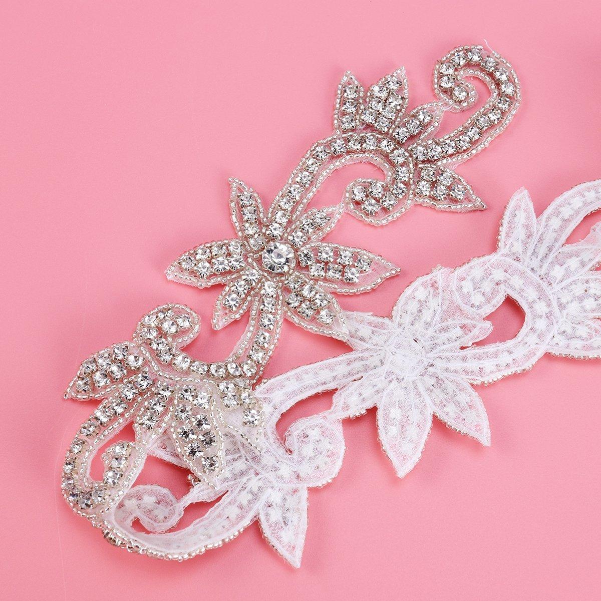 Famoso Cinturones De Diamantes De Imitación Para Vestidos De Novia ...