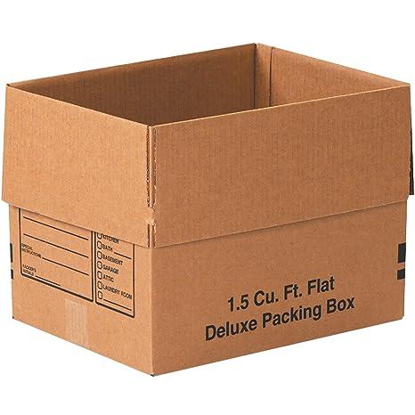 Pack of 25 Kraft 20 x 14 x 4 Tape Logic TL20144 Corrugated Boxes