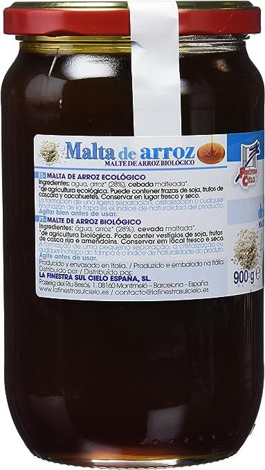 Malta de arroz - La Finestra Sul Cielo - 900g: Amazon.es: Alimentación y bebidas