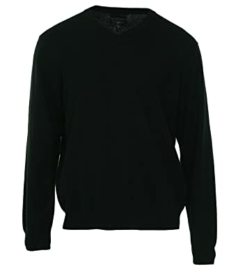 Club Room Men's Cashmere Solid V-Neck Sweater at Amazon Men's ...