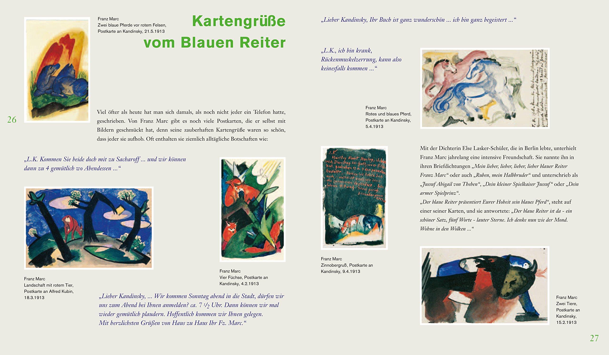 Der Blaue Reiter: Abenteuer Kunst: Amazon.de: Doris Kutschbach: Bücher