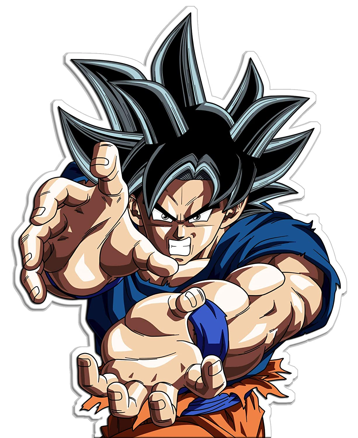 Amazon com dragon ball super ultra instinct goku decal sticker 4 baby