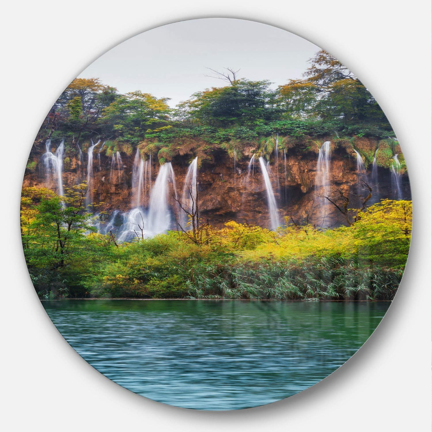 60 by 40//0.75 Deep iCanvasART 3 Piece Reflections Canvas Print by Kitsch Opus