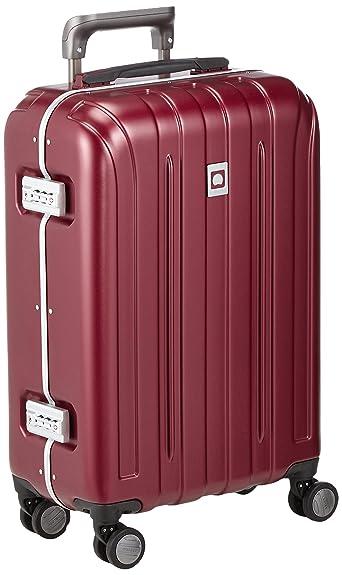 8a7ece86d6 Amazon | デルセー スーツケース DELSEY VAVIN SECURITE ヴァヴィン セキュリティ デルセー スーツケース キャリーケース  Sサイズ 55cm ビジネス 出張 (レッド) ...