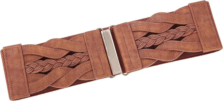 GRACE KARIN Cintur/ón Ancho para Mujer El/ástico Resistente