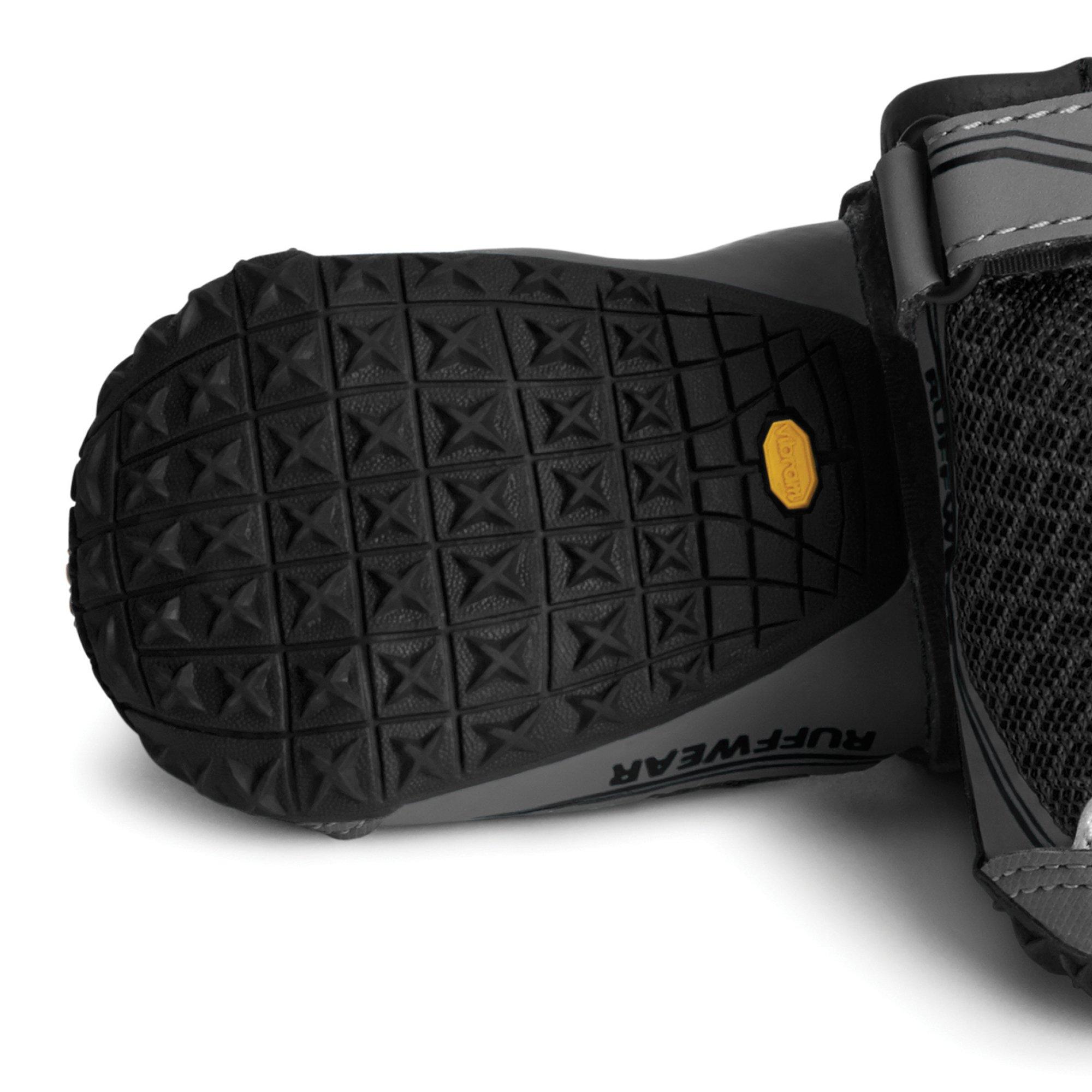 RUFFWEAR 15202-001300 - Grip Trex, All-Terrain Paw Wear for Dogs, Obsidian Black, 3.0 in (Set of 4) by RUFFWEAR (Image #2)
