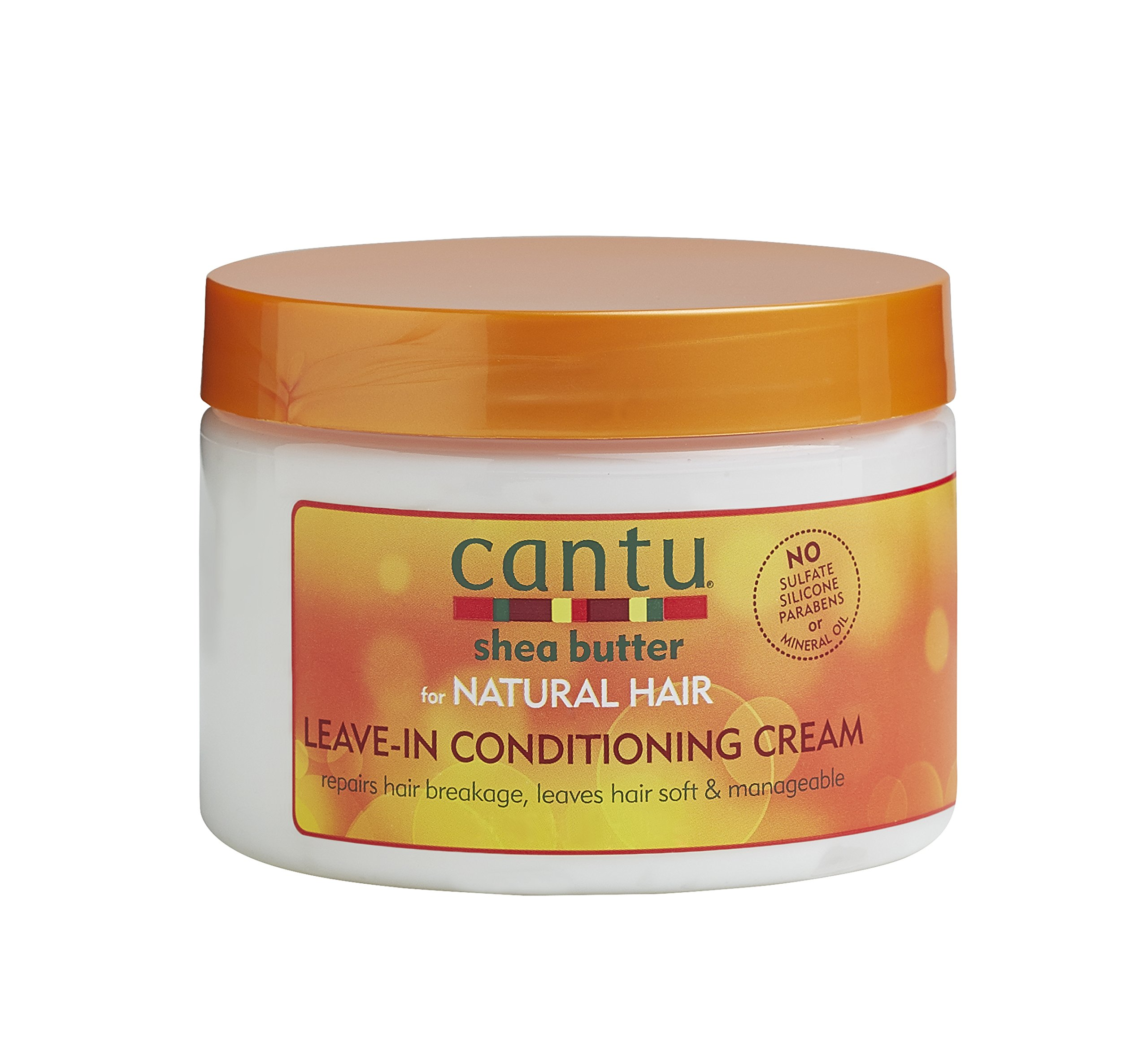 Cantu Shea Butter for Natural Hair Leave in Conditioning Cream, 12 Ounce