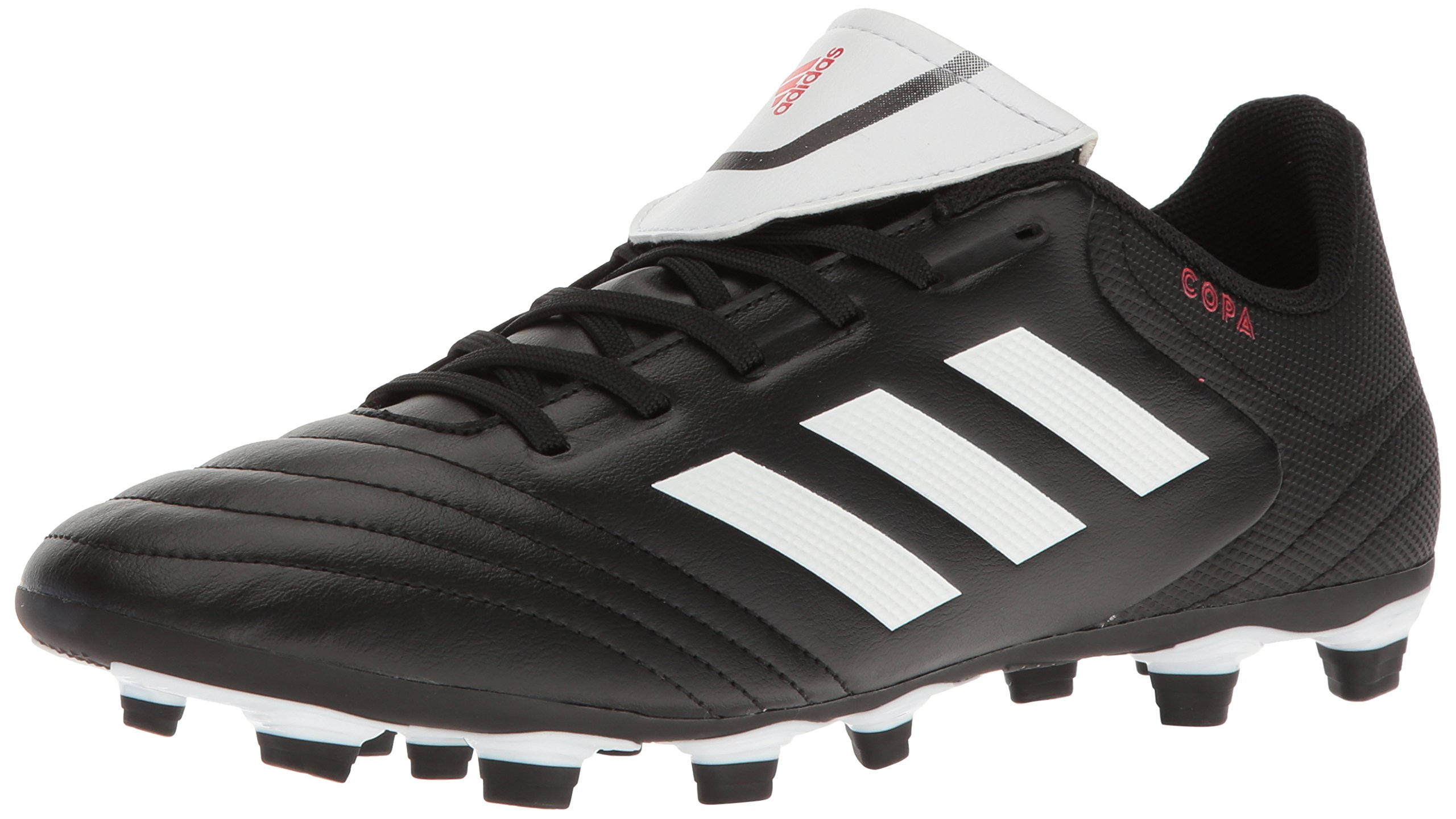 adidas Men's Copa 17.4 FxG Soccer Shoe, Black/White/Black, (12 M US)