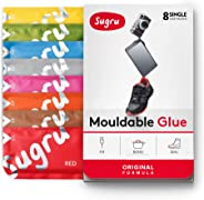 Sugru Moldable Glue - Original Formula - All-Purpose Adhesive, Advanced Silicone Technology - Holds up to 2 kg - New Colours