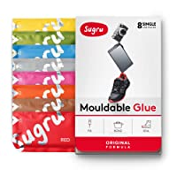 Sugru Moldable Glue - Original Formula - All-Purpose Adhesive, Advanced Silicone Technology - Holds up to 4.4 lb - New Colors 8-Pack