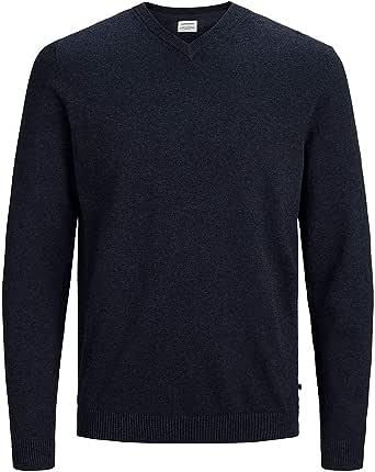 Jack & Jones Jjebasic Knit V-Neck Noos suéter para Hombre