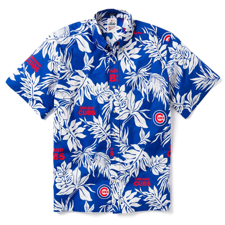 Reyn Spooner Men's Chicago Cubs MLB Classic Fit Hawaiian Shirt, Aloha 2019, XXX-Large by Reyn Spooner