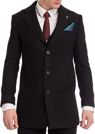 Carisma 7553 - Abrigo de lana para hombre, estilo casual, varios tamaños