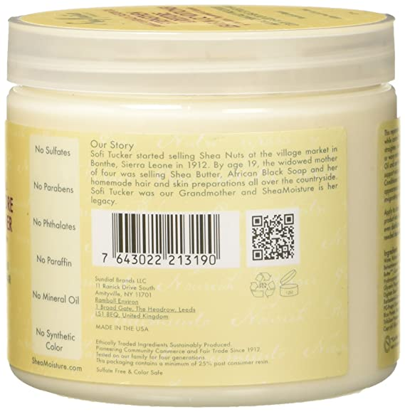 Humectación de karité, aceite de ricino negro jamaicano, acondicionador fortalecedor/crecimiento y restauración, 431 ml.: Amazon.es: Belleza