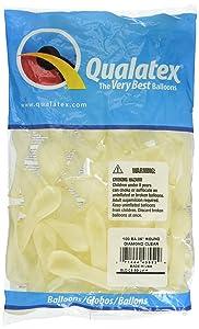 Qualatex Latex Balloons 43552 DIAMOND CLEAR 5 Inch