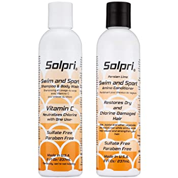 Solpri Chlorine Swimmer Shampoo and Conditioner