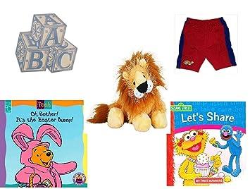 7260aa1f9 Amazon.com   Children s Gift Bundle - Ages 0-2  5 Piece  - ABC Baby ...