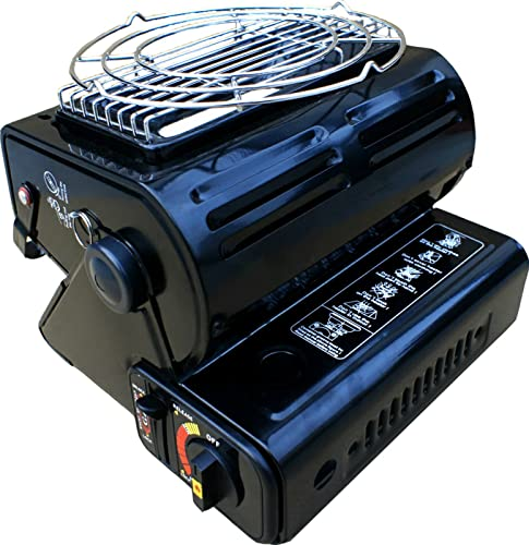 Bright Spark Toaster ~ Highlander compact gas heater black amazon