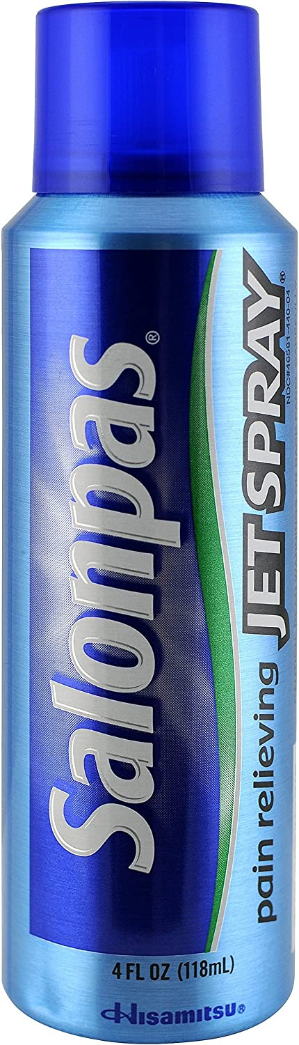 Salonpas Pain Relieving Jet Spray 4 Ounce