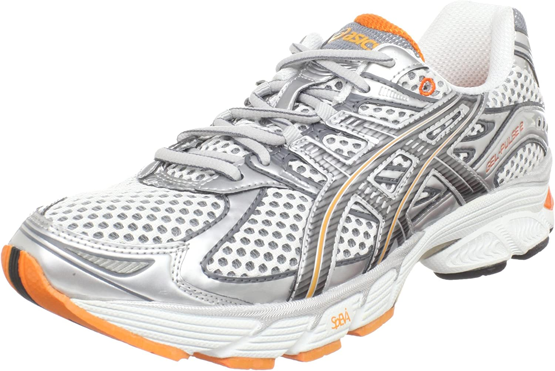 Amazon.com | ASICS Women's GEL-Pulse 2 Running Shoe, White ...