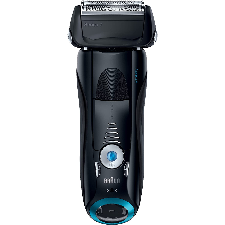 Braun Series 7 740S Men's Electric Foil Shaver/Electric Razor, Wet & Dry 740S-7 Wd Blk/Blk Box Na