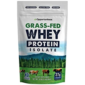 Grass-Fed Whey Protein Powder Isolate