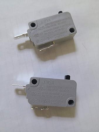 KW3A 16A 125V/250V Microinterruptor para puerta de horno de ...