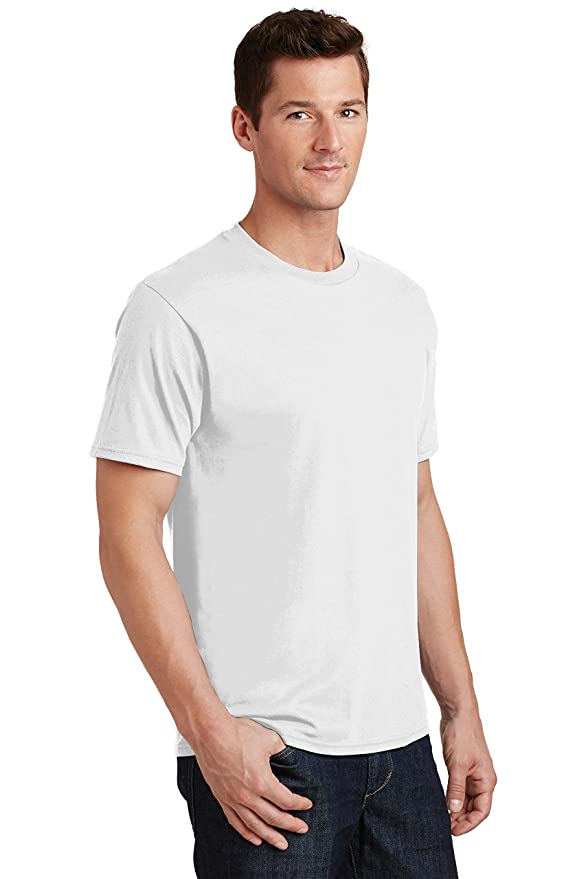 Port /& Company Boys New Casual 100/% Cotton Short Sleeve T-Shirt PC450Y