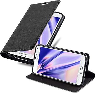 Cadorabo Funda Libro para Samsung Galaxy S5 Mini / S5 Mini DUOS en ...