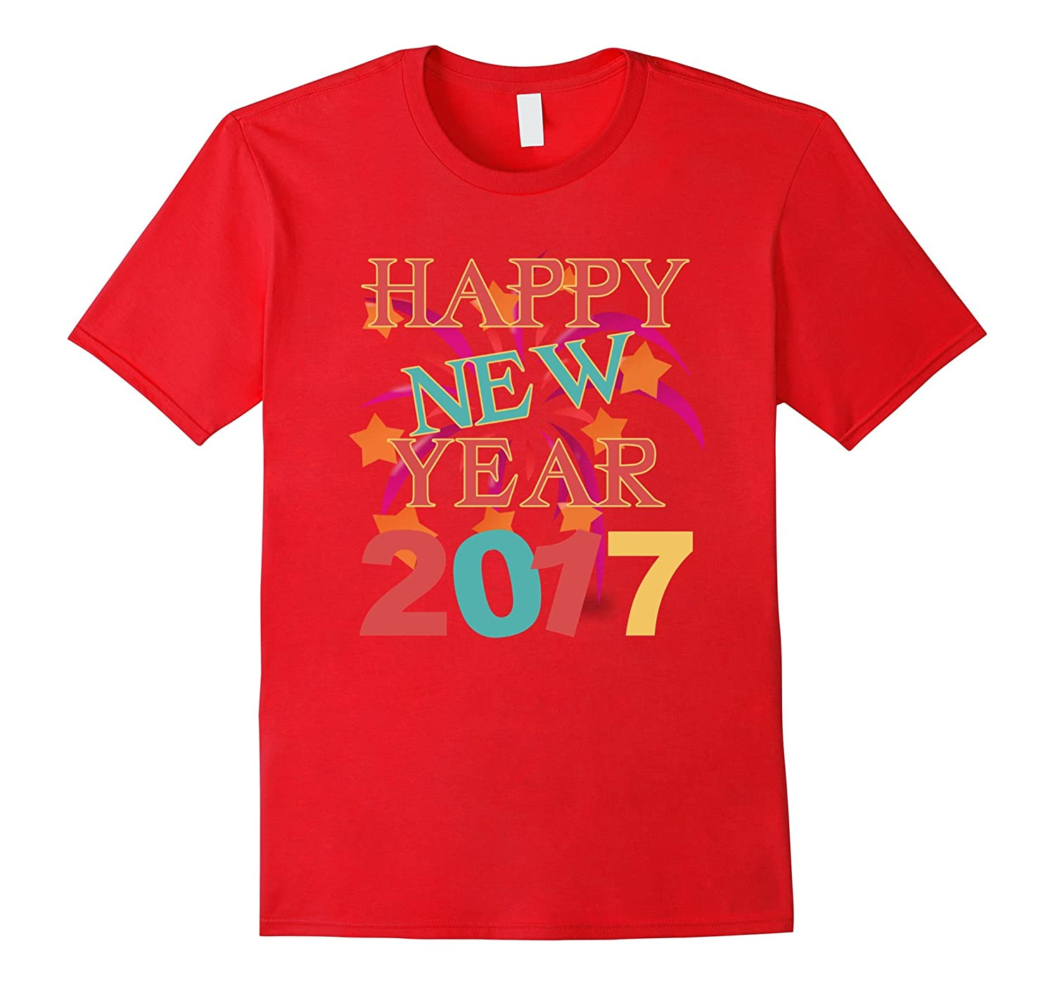 Happy New Year 2017 cute shirt-CL