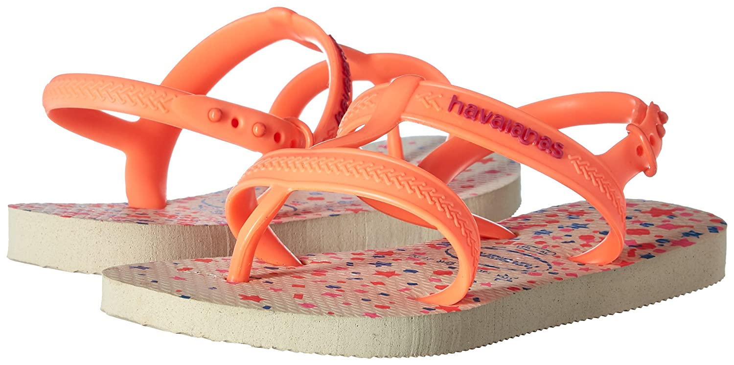 Havaianas Girls Flip Flop Sandals 4135036-0642-234 Joy Gladiator, Toddler//Little Kid
