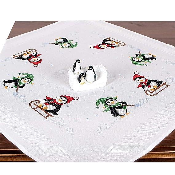 Stickpackung Pinguine, komplettes vorgezeichnetes Kreuzstich ...