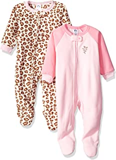 Amazon.com  Gerber Girls  2-Pack Blanket Sleeper  Clothing e382e063b