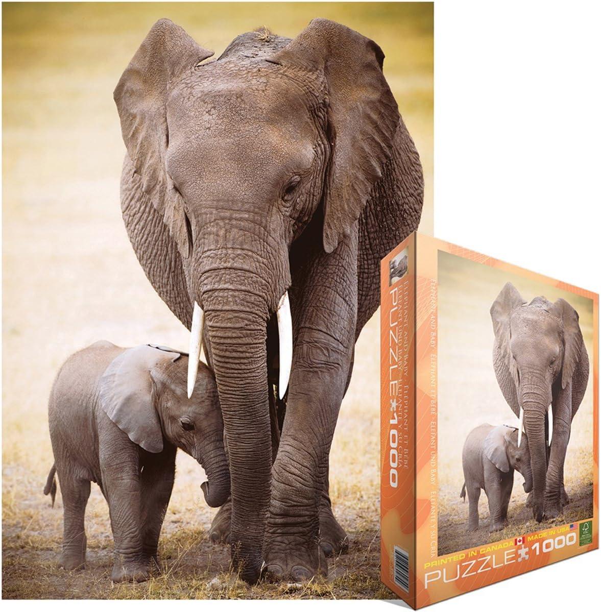 Clementoni 1000 Pièces 39416 collection-l/' éléphant