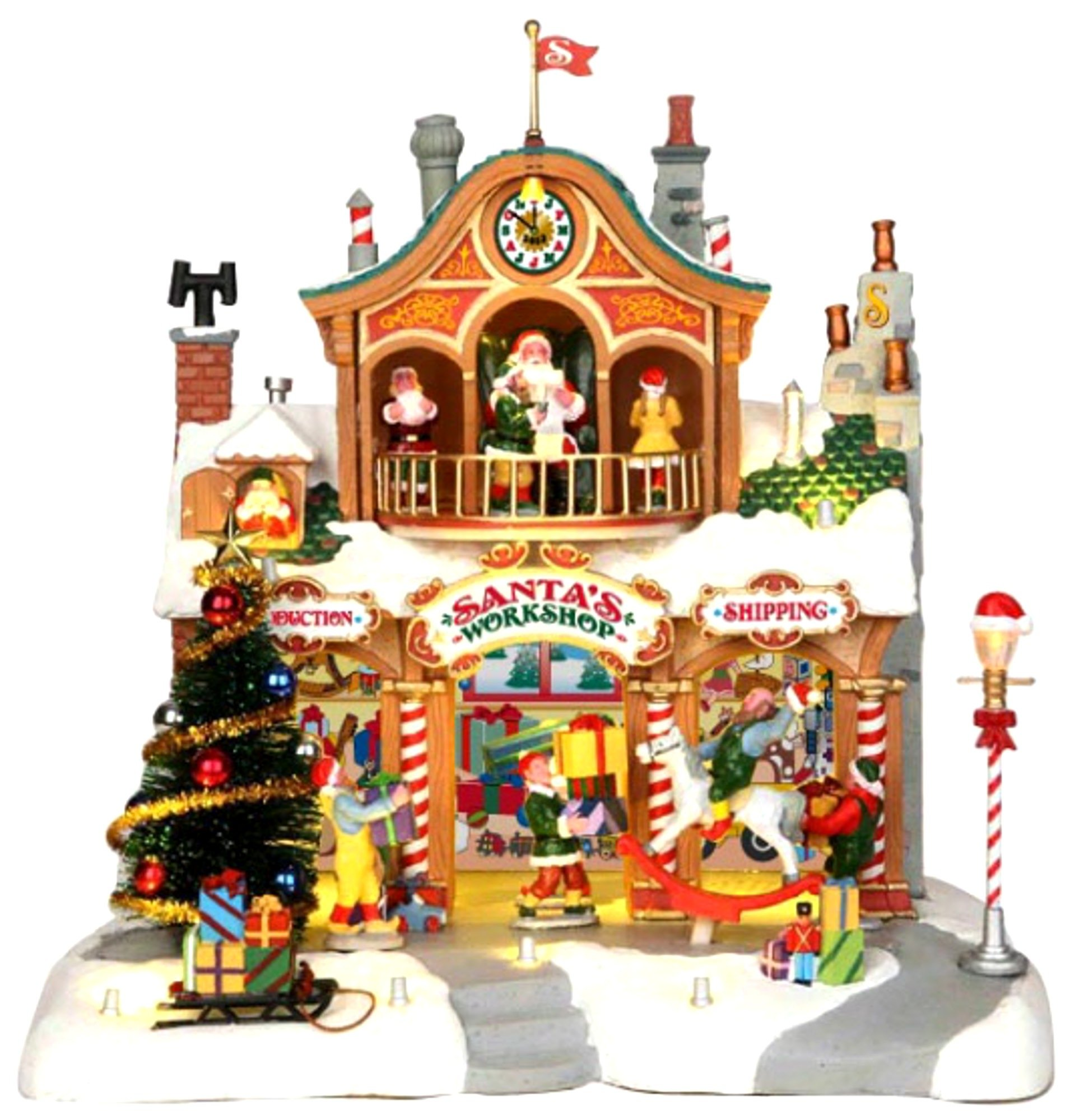 Lemax Christmas Village Santa's Workshop by Lemax by Lemax