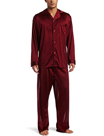 a1b74ce46cef INTIMO Men s Classic Tricot Pajama Set at Amazon Men s Clothing store