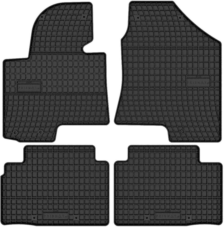 Prismat Gummimatten Gummi Fußmatten Satz Für Hyundai Ix35 2009 2015 Und Hyundai Tucson 2009 2015 Passgenau Auto