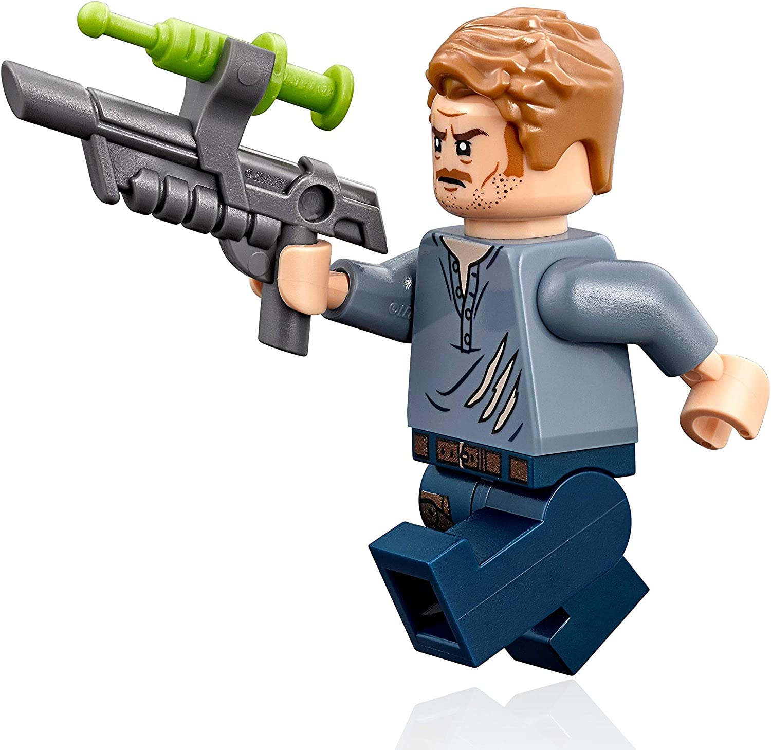 LEGO Jurassic World Owen Grady Minifigure 75929 Fallen Kingdom Mini Fig